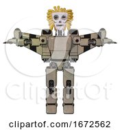 Android Containing Humanoid Face Mask And Skeleton War Paint And Light Chest Exoshielding And Prototype Exoplate Chest And Stellar Jet Wing Rocket Pack And Prototype Exoplate Legs Grungy Fiberglass
