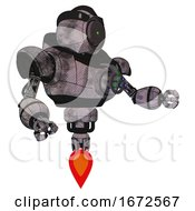 Automaton Containing Green Dot Eye Corn Row Plastic Hair And Heavy Upper Chest And Chest Energy Gun And Jet Propulsion Sketch Pad Cloudy Smudges Interacting