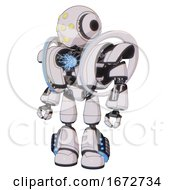 Automaton Containing Round Head And Yellow Eyes Array And Head Light Gadgets And Heavy Upper Chest And Heavy Mech Chest And Spectrum Fusion Core Chest And Light Leg Exoshielding