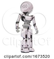 Automaton Containing Dots Array Face And Light Chest Exoshielding And Ultralight Chest Exosuit And Prototype Exoplate Legs White Halftone Toon Hero Pose