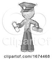 Sketch Police Man Pills