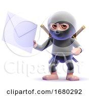 3d Ninja Letter