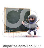 Poster, Art Print Of 3d Ninja Training