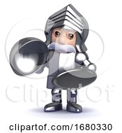 3d Knight Silver Service