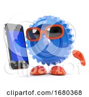 3d Cog With A Smartphone by Steve Young