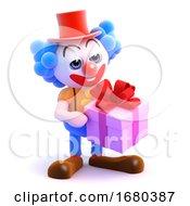 3d Clown Gift