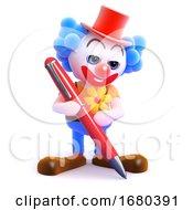 3d Clown Writes