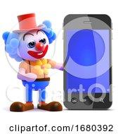 3d Clown Smartphone