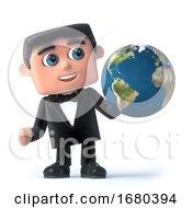 3d Bow Tie Spy Studies The Globe