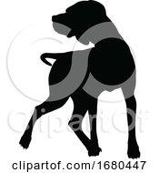 09/21/2019 - Dog Silhouette Pet Animal