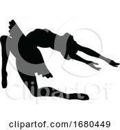 09/21/2019 - Ballet Dancer Silhouette Set