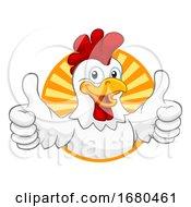 09/21/2019 - Chicken Cartoon Rooster Cockerel Character