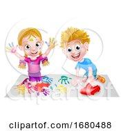 09/24/2019 - Cartoon Kids Playing