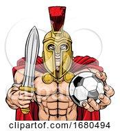 09/24/2019 - Spartan Trojan Soccer Football Sports Mascot