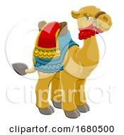 Camel Animal Cartoon Character