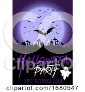 Background For Halloween Party Poster