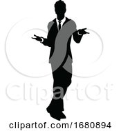 Silhouette Business Person
