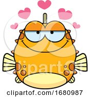 Cartoon Loving Blowfish