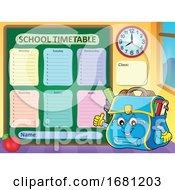 Poster, Art Print Of School Bag