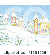 Poster, Art Print Of Winter Village