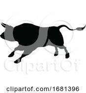 10/04/2019 - Bull Silhouette