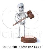 3d Skeleton Runs An Auction