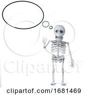3d Skeleton Has An Idea