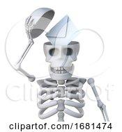 3d Skeleton Reveals A Letter Inside His Skull