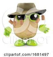 3d Australian Potato