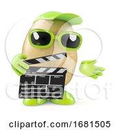 3d Potato Makes A Movie