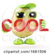3d Potato Thinks Hes Cool