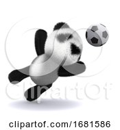 Poster, Art Print Of 3d Panda Goaly