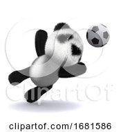 3d Panda Goaly