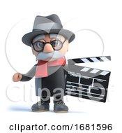 Poster, Art Print Of 3d Grandpa Makes A Movie