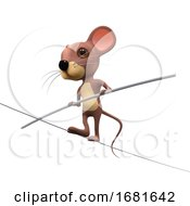 3d High Wire Mouse