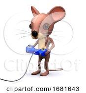 Poster, Art Print Of 3d Gamer Mouse