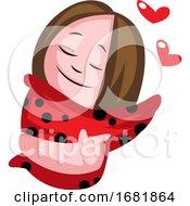 Poster, Art Print Of Little Teenage Girl In Love