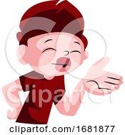 Cute Boy Blowing Kisses