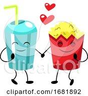 Popcorn And Soda In Love