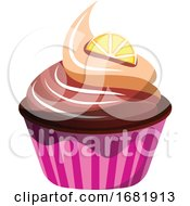 Chocolate Orange Cupcake by Morphart Creations
