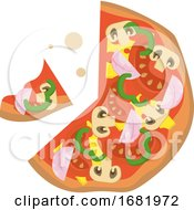 Poster, Art Print Of Pizza Classic