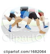 Running Illustration