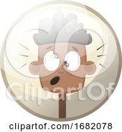 Cartoon Character Of Child Feeling Confused