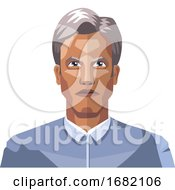 Older Man With Grey Hair