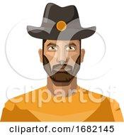 Guy With Beard Wearing Hat