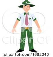 Forest Guard Character