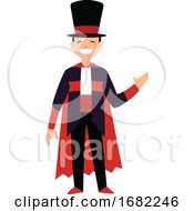 Happy Magician Character