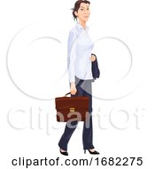 Working Woman Illustration