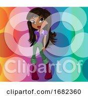 Poster, Art Print Of Party Girl Illustration