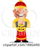 Cartoon Chinese Man